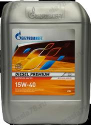 Газпром нефть Дизель Премиум 15w40 20л.  API СI-4/SL