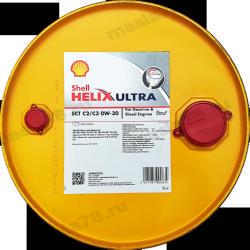 Shell Helix Ultra ECT С2/С3  0w30 бочковое 1л.